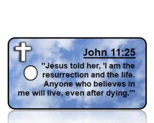 John 11:25 Bible Scripture Key Tags