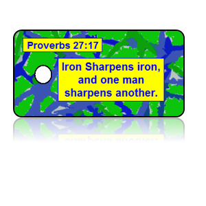 Proverbs 27:17 Bible Scripture Key Tags