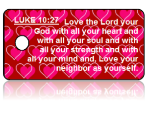Luke 10:27 Bible Scripture Key Tags