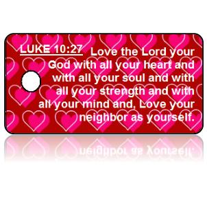 Luke 10:27 Bible Scripture Key Tags