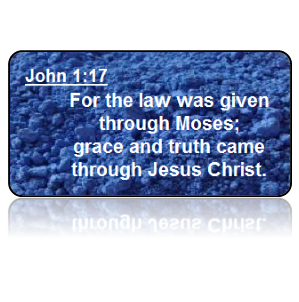 John 1:17 Bible Scripture Key Tags
