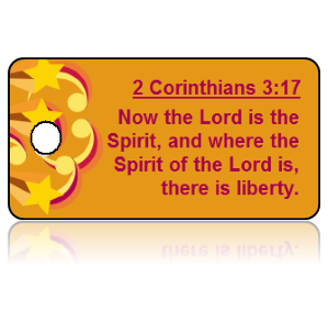2 Corinthians 3:17 Bible Scripture Key Tags