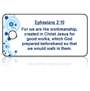 Ephesians 2:10 Bible Scripture Key Tags