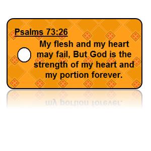 Psalm 73:26 Bible Scripture Key Tags