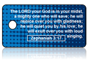 Zephaniah 3:17 Bible Scripture Key Tags