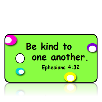 Ephesians 4:32 Bible Scripture Kindness Key Tags