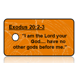 Exodus 20:2-3 Bible Scripture Key Tags