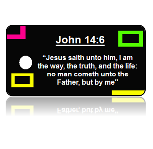 John 14:6 Bible Scripture Key Tags