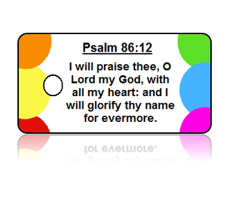 Psalm 86:12 Bible Scripture Key Tags