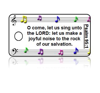 Psalm 95:1 Bible Scripture Key Tags