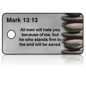 Mark 13:13 Bible Scripture Key Tags