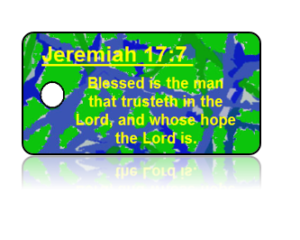 Jeremiah 17:7 Bible Scripture Key Tags