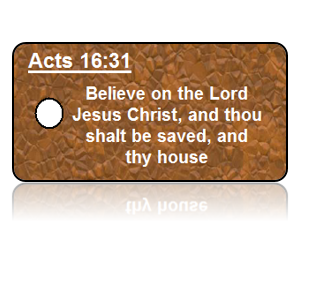 Acts 16:31 Bible Scripture Key Tags