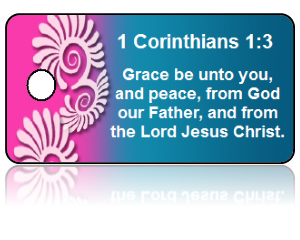 1 Corinthians 1:3 Bible Scripture Key Tags