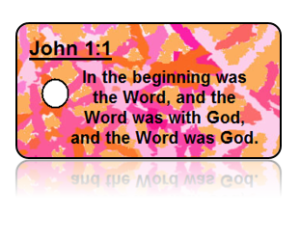 John 1:1 Bible Scripture Key Tags