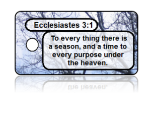 Ecclesiastes 3:1 Bible Scripture Key Tags