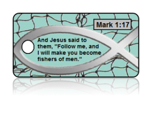 Mark 1:17 Bible Scripture Key Tags