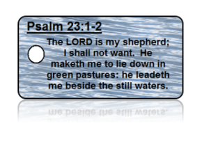 Psalm 23:1-2 Bible Scripture Key Tags