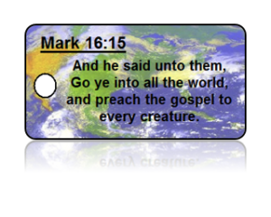Mark 16:15 Bible Scripture Key Tags