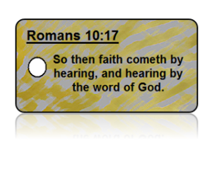 Romans 10:17 Bible Scripture Key Tags