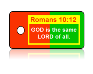 Romans 10:12 Bible Scripture Key Tags