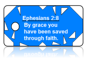 Ephesians 2:8 Bible Scripture Key Tags