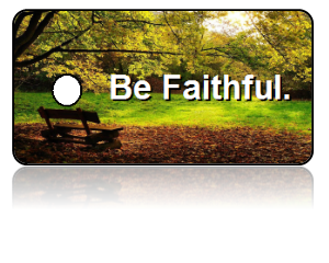 Faithful Motivational Key Tags