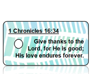 1 Chronicles 16:34 Bible Scripture Key Tags