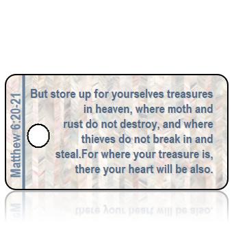 Matthew 6 vs 20-21 - Mother of Pearl