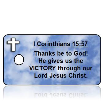 1 Corinthians 15:57 Scripture Key Tags