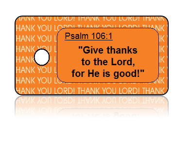 Psalm 106:1 Holiday Scripture Key Tags