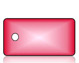 Create Design Key Tags Red Burst
