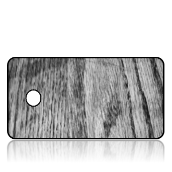 Create Design Key Tags Black White Wood Grain