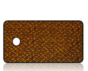 Create Design Key Tags Fall Basket Weave