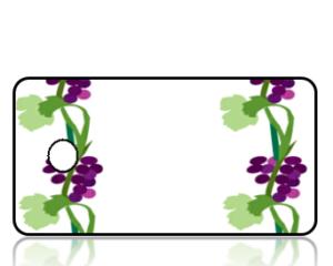 Create Design Key Tags Grape Vines
