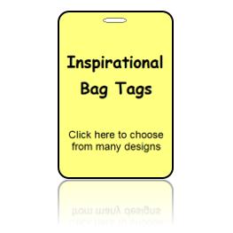 Inspirational Bag Tags