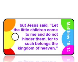 Matthew 19:14 Bible Scripture Key Tags ESV