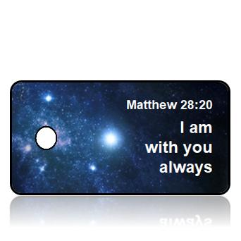 ScriptureTagA60 - NIV - Matthew 28 vs 20 - SPACE
