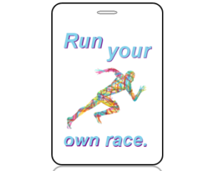 Create Design Bag Tags Running