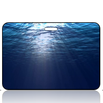 Create Design Bag Tag Open Water