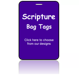 Scripture Bag Tags