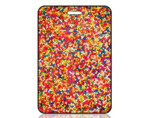 Create Design Bag Tag Tiny Dots