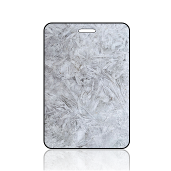 Create Design Bag Tag Gray Cool Ice