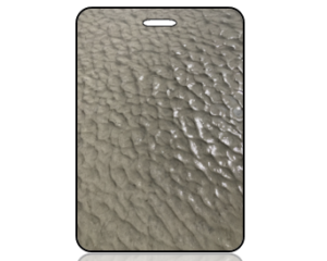 Create Design Bag Tag Wet Sand Cool Pattern