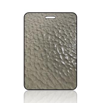 Create Design Bag Tag Wet Sand Cool Pattern