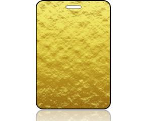 Create Design Bag Tag Golden Morning Beach