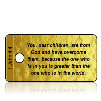 1 John 4:4 Bible Scripture Key Tags