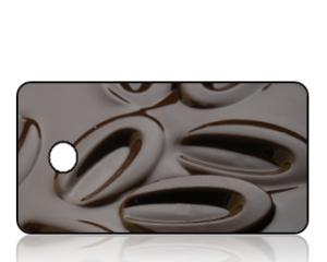 Create Design Key Tags Chocolate