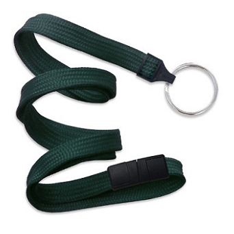 Breakaway Lanyard Forest Green