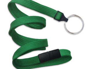 Breakaway Lanyard Green 10 mm (3/8″)